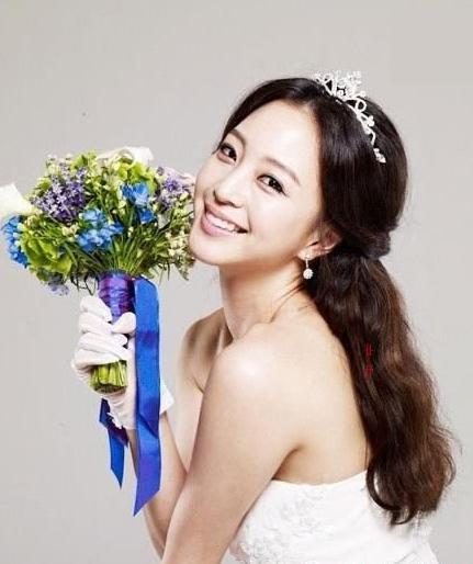 时尚魅影化妆学校最新可爱新娘的发型 做最美时尚新娘
